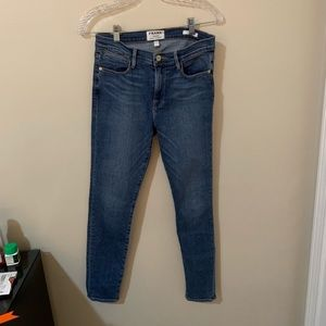Frame Denim Medium Wash Jeans